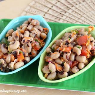 Black-Eyed Peas Salad – Black-Eyed Beans Salad.