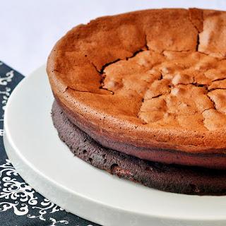 Gluten Free Chocolate Souffle Cake