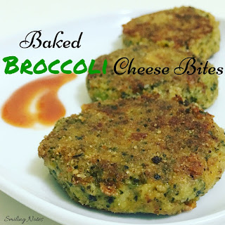 Baked Broccoli Cheese Bites.