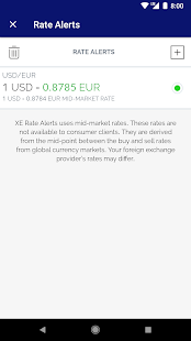 XE Currency Converter & Money Transfers Pro Screenshot