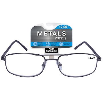 Gafas Zoom Togo Lectura   Metals 1 Aumento 2.00 X1Und
