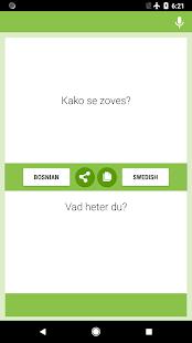 Bosanski - Švedski Prevodilac