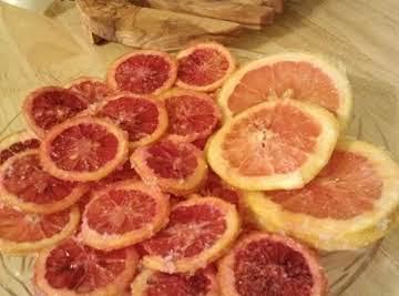 Sugared Citrus Slices