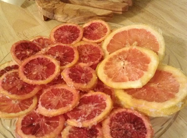 Sugared Citrus Slices Recipe