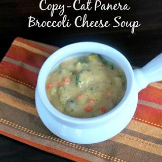 Healthier Panera Broccoli Cheese Soup