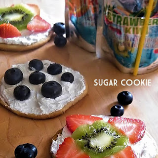 Sugar Cookie Fruit Pizzas.