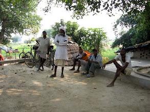 Photo: starý farmář v zapadlé vesnici