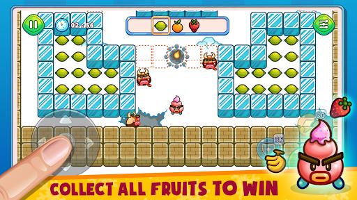 Fruit & Ice Cream - Ice cream war Maze Game  screenshots 1