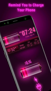 Weather Forecast Widget with Battery and Clock APK image thumbnail 2