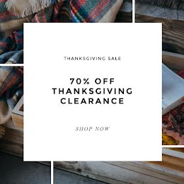 Thanksgiving Clearance - Thanksgiving item