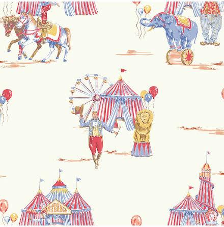Cirkus Fun Tapet från Arthouse Imagine Fun