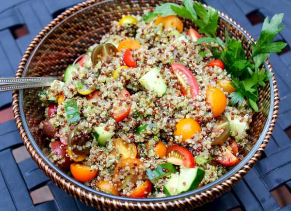 Quinoa Tabbouleh Recipe | Yummly