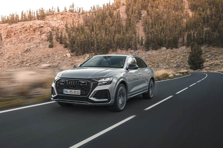 The new Audi RS Q8 will set you back R2,354,500.