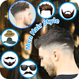 Man hairstyle photo editor: Stylish photo editor