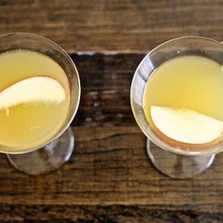 Apple Ginger Lime Martini