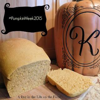 Pumpkin Yeast Bread.