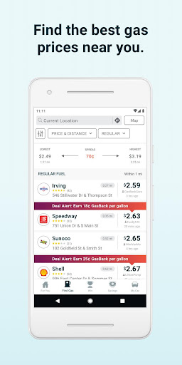 GasBuddy: Find Cheap Gas Prices & Fuel Savings screenshot 2