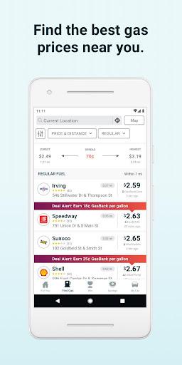 GasBuddy: Find Cheap Gas Prices & Fuel Savings  screenshots 2