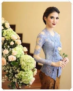 Elegance Kebaya Nusantara Model - náhled
