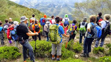Photo: Una parada para mirar el paisaje
