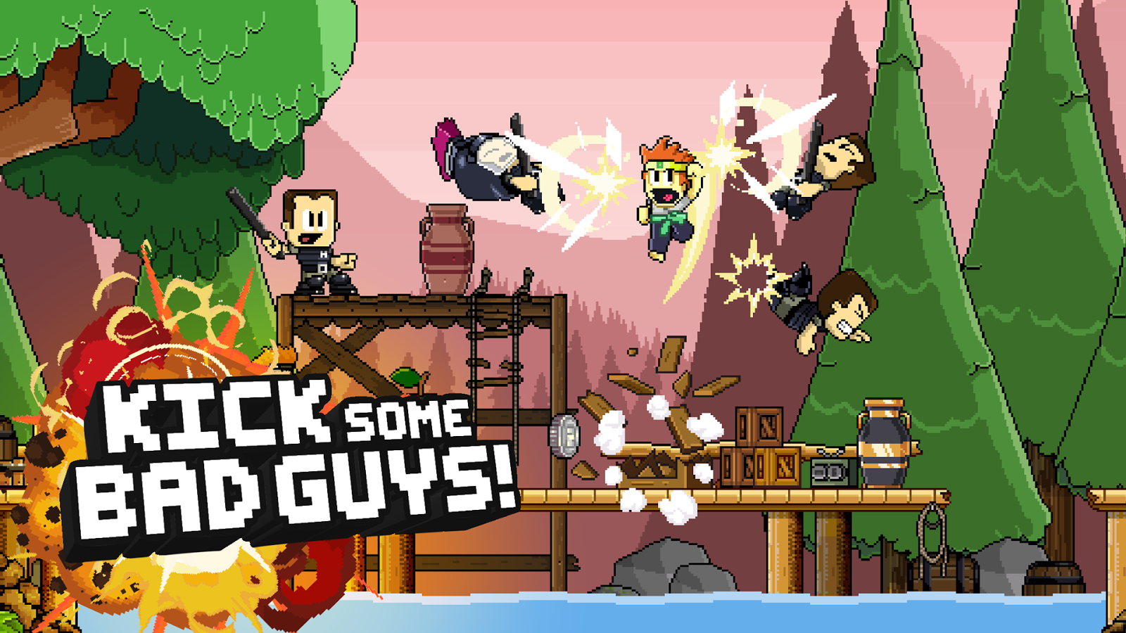 dan the man action platformer android apps on google play