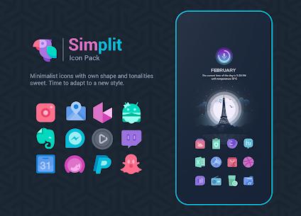 Simplit – Icon Pack (MOD, Paid) v1.3.5 1