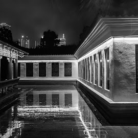 Chenzhou  by Tony Mortyr - Black & White Buildings & Architecture ( china, night, house )