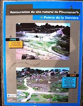 """Photo: BRETANYA 2013. SITE NATUREL DE PLOUMANAC'H et SENTIER DES DOUANIERS. Zona """"Pointe de la Sorcière""""."""