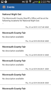 Monmouth County Sheriff- screenshot thumbnail