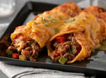 Beefy Beef Enchiladas Recipe