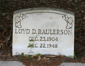 Photo: Loyd D Raulerson son of William M Raulerson and America Texas Dinkins / Husband of Mae G Anderson