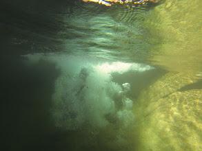 Photo: dopad pod vodu po kĺzaní