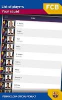 Screenshot of FC Barcelona Official App