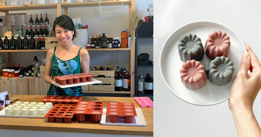 This S'porean banker battled with acne so she created a natural skincare and beauty brand
