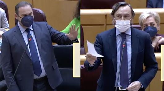 Así ha sido la bronca política entre Hernando y el ministro Ábalos por Almería