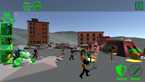 Stickman: Legacy of Zombie War- screenshot thumbnail