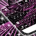 Pink Laser Keyboard icon