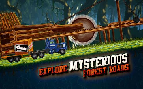Forest Truck Simulator: Offroad & Log Truck Games v 3 46