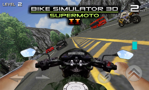 Télécharger Bike Simulator 2 Moto Race Game apk mod screenshots 6