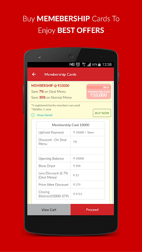 Be U Salons Hair-Beauty Deals In Delhi & Bangalore 1.1.4.1 screenshots 3