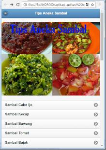 Tips Aneka Sambal Apps On Google Play