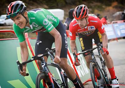 """Richard Carapaz heeft lovende woorden voor concurrent """"Ik ben verslagen door de beste renner ter wereld"""""""