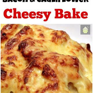Bacon Cauliflower Cheesy Bake Recipe