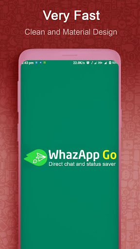 WhazappGo - Direct Chat & Video Status Saver 3.5 screenshots 1