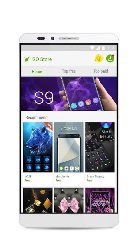 Download Go Launcher S 3d Theme Wallpaper Sticker Apk Latest