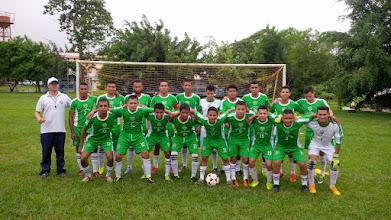 Photo: Equipo de football que representa a UCATSE en el torneo interuniversitario