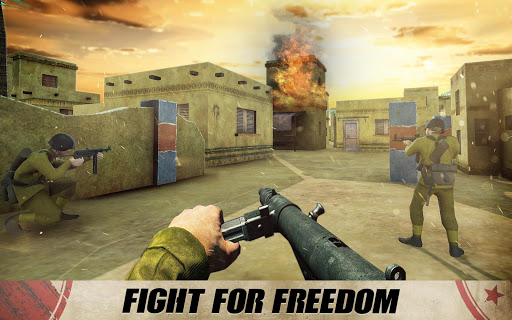 Code Triche Call of Army WW2 Shooter - Frontline Duty Mission APK MOD screenshots 2