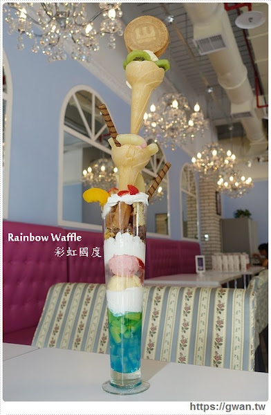 Rainbow Waffle Cafe (已歇業)