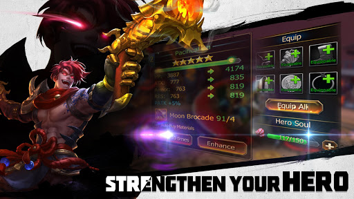 Dynasty Blades: Collect Heroes & Defeat Bosses apkpoly screenshots 15