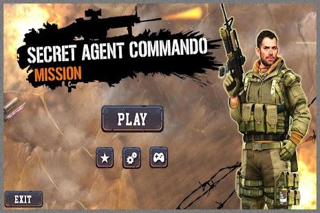Secret Agent Commando Mission - náhled